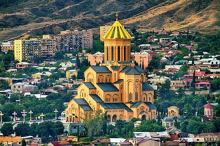 Holy Trinity Cathedral of Tbilisi.