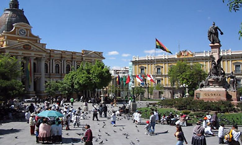 What Is The Capital Of Bolivia