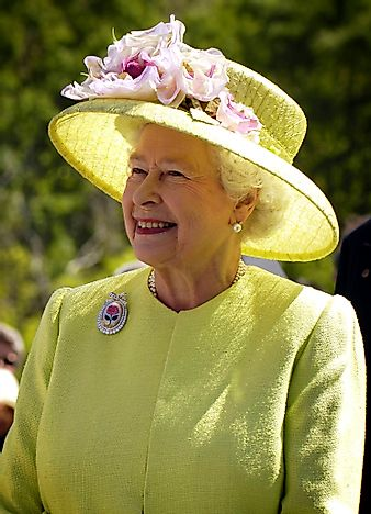 #2 Elizabeth II of the United Kingdom and Commonwealth Realms - 63 Years, 349 Days