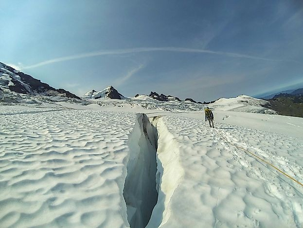 What Are The Differences Between A Crevasse And A Crevice