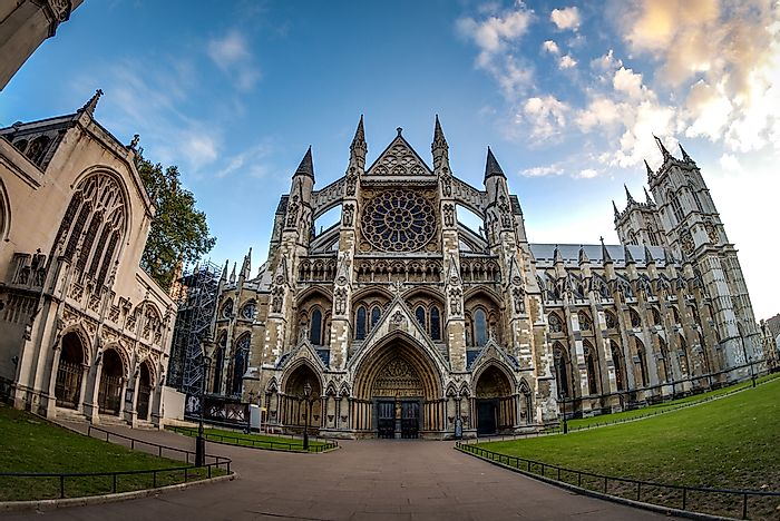#8 Westminster Abbey