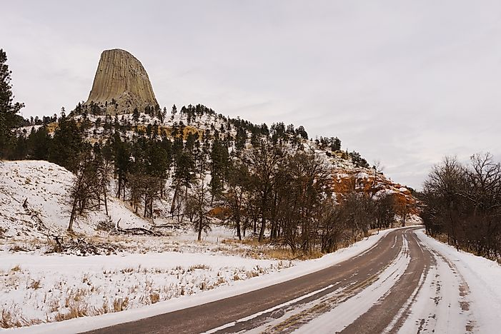 #10 Devils Tower Entrance Road - Devils Tower, Wyoming