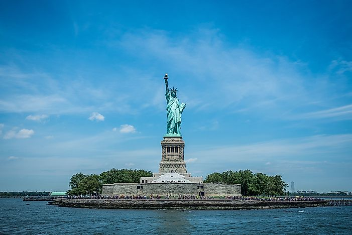 #1 Statue of Liberty - 1886