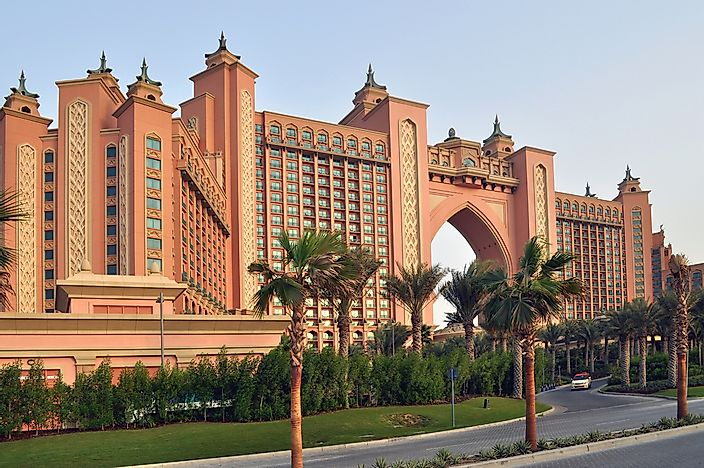 The Atlantis Hotel in Dubai.