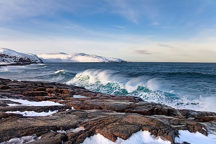 Which Countries Have A Coastline On The Barents Sea?