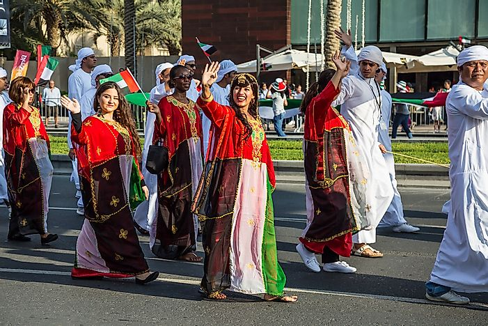 What Is The Ethnic Composition Of The United Arab Emirates?