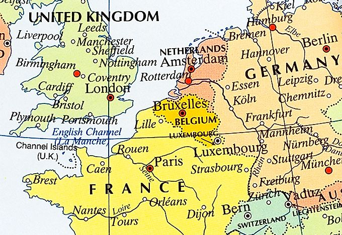 Map Of Europe Luxemburg.Interesting Facts About Luxembourg Worldatlas Com