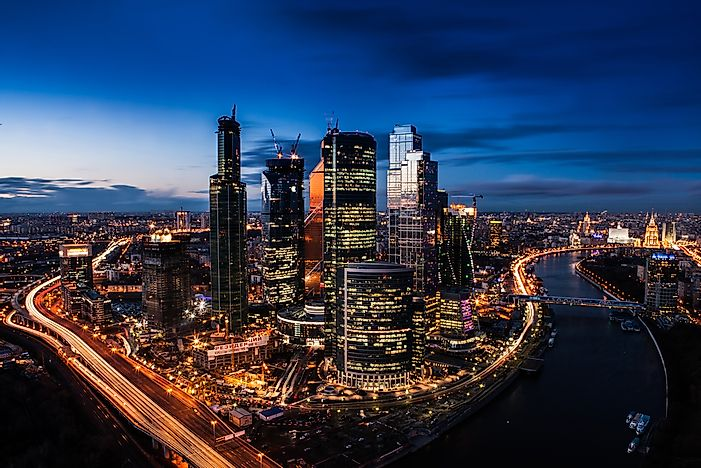 #1 Moscow has one of the world's highest concentration of billionaires.