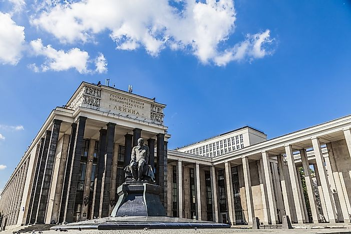 #2 Russian State Library