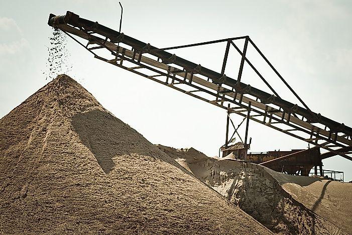 Top 20 Sand Exporting Countries - WorldAtlas com