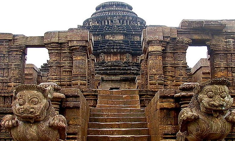 #3 The Konark Sun Temple In Orissa -