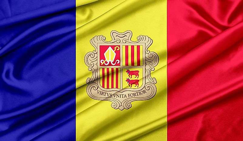 What Do the Colors and Symbols of the Flag of Andorra Mean?
