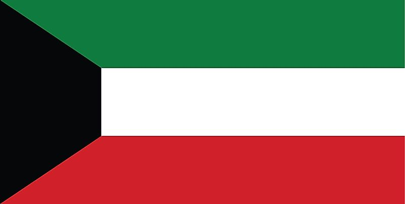 What Do The Colors And Symbols Of The Flag Of Kuwait Mean