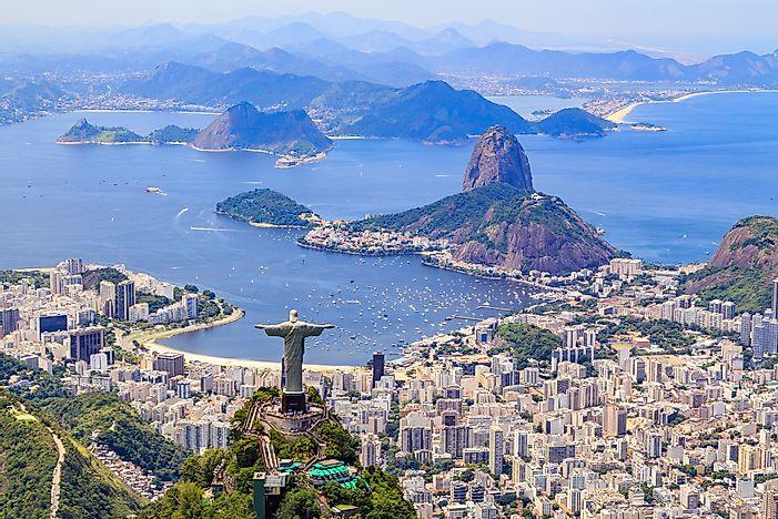 Brazil  >> The Most Dangerous States In Brazil Worldatlas Com