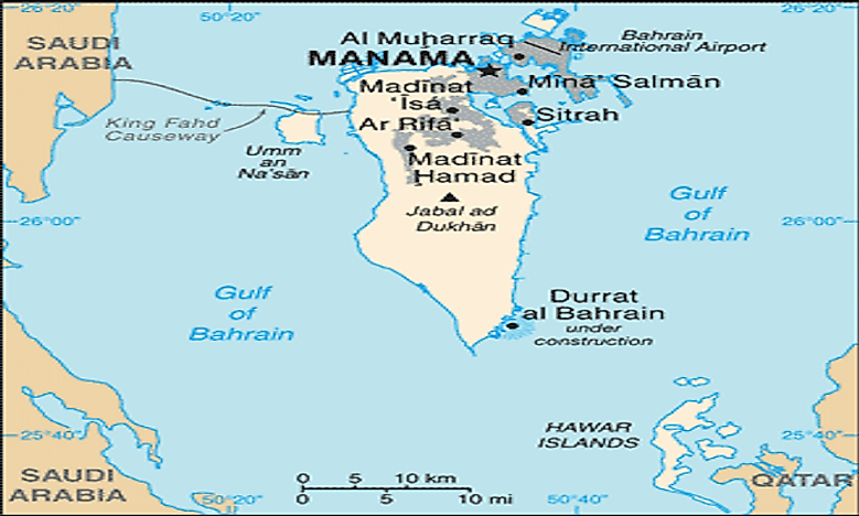 Islands of the kingdom of bahrain worldatlas islands of the kingdom of bahrain gumiabroncs Image collections