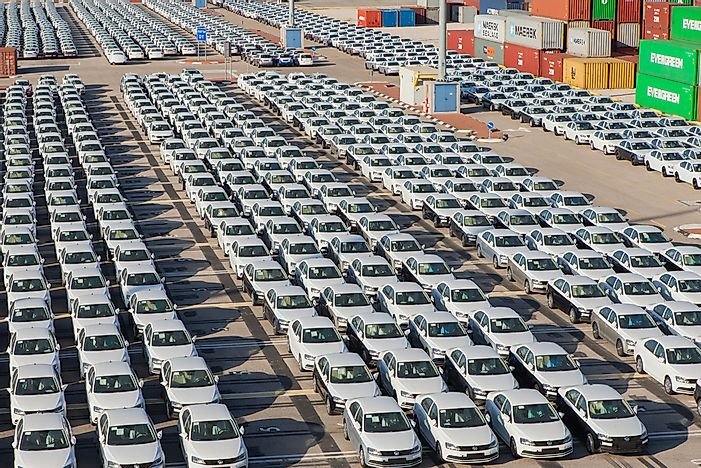 The 20 Biggest Car Exporting Countries In The World