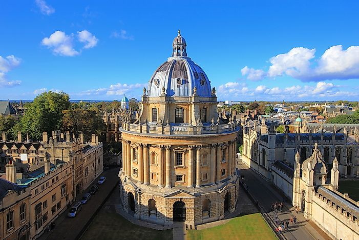 #5 University of Oxford