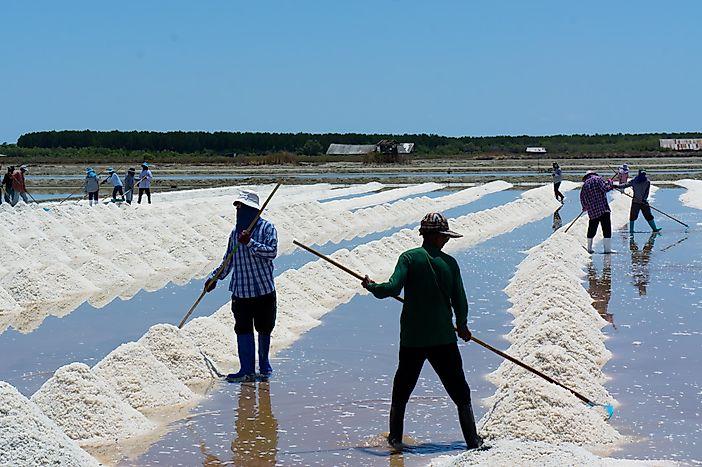 Top 20 Salt Exporting Countries - WorldAtlas.com Detroit Salt Mines Map on