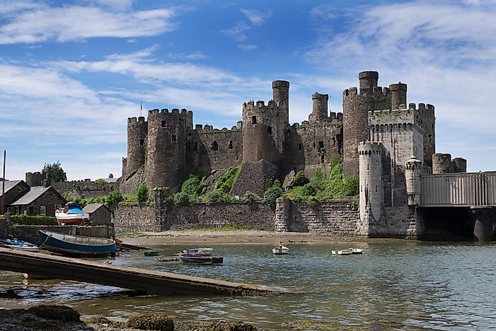 Conwy Castle in Wales.