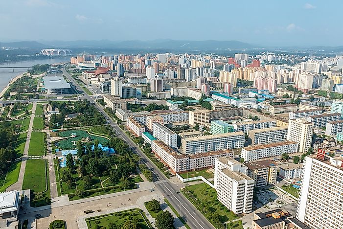 What is the Capital of North Korea?