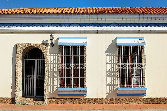 A historic home in Coro, Venezuela.