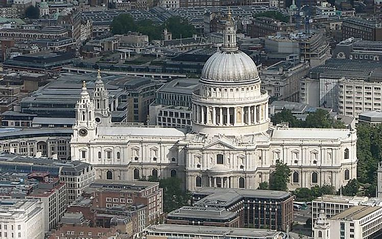 #2 St Paul's Cathedral