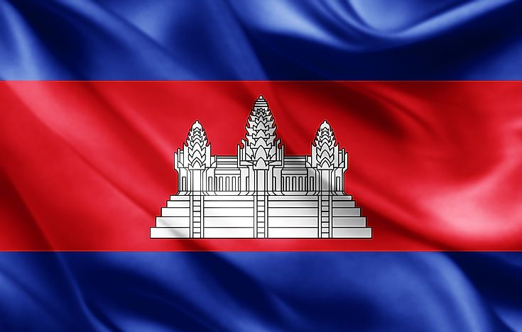 What Do The Colors And Symbols Of The Flag Of Cambodia Mean