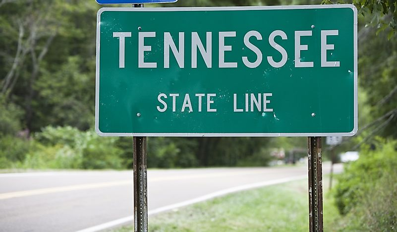 Which States Border Tennessee?