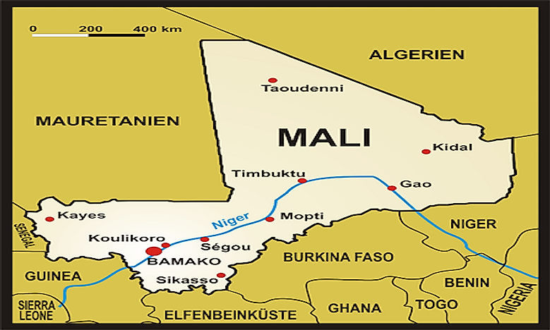 Where Is Mali? - WorldAtlas.com