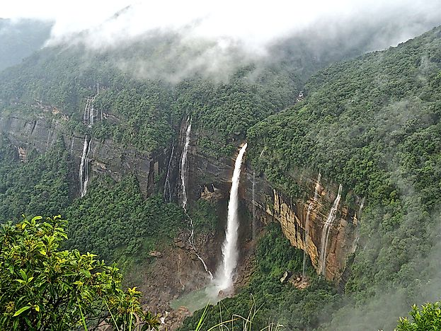 Cherrapunji - Unique Places Around the World