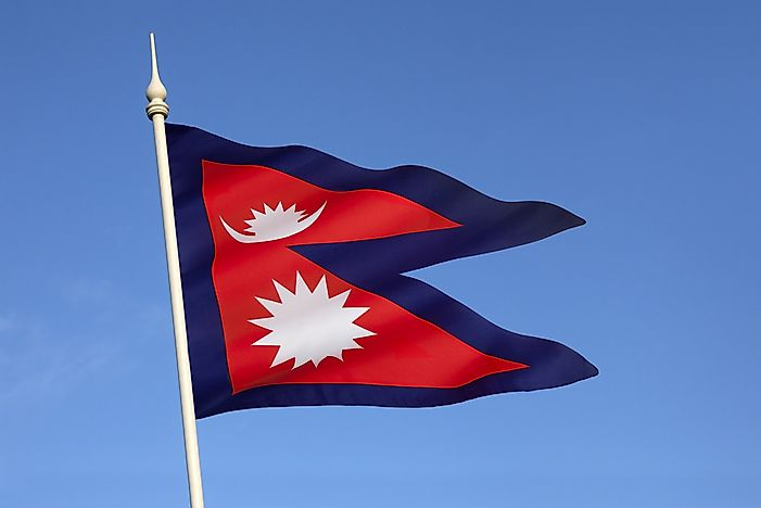 What Do The Colors And Symbols Of The Flag Of Nepal Mean?