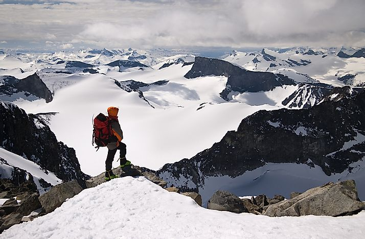 The Highest Mountains In Norway