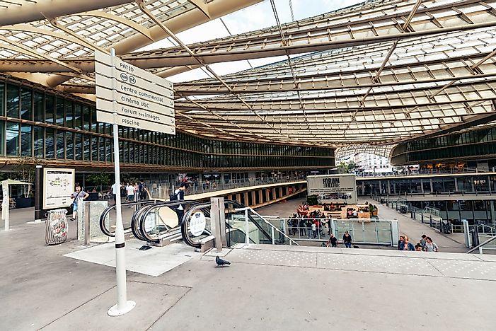 Các trung tâm mua sắm truy cập nhiều nhất ở Pháp