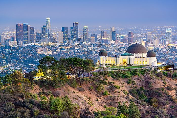 #7 Griffith Park, Los Angeles (12 million visitors)