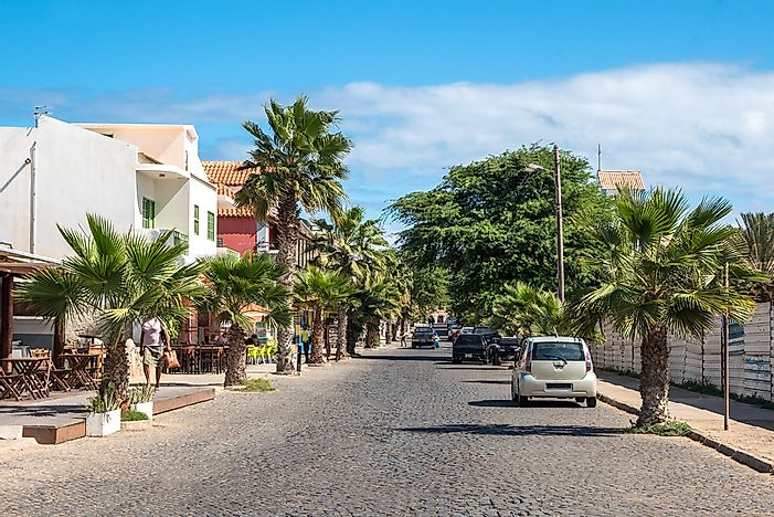 The island of Sal, Cape Verde.