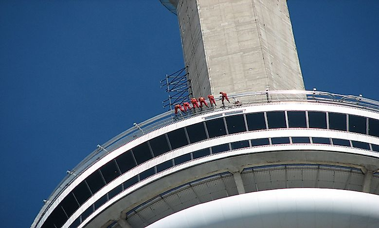 #3 Edgewalk, CN Tower, Toronto, Canada -