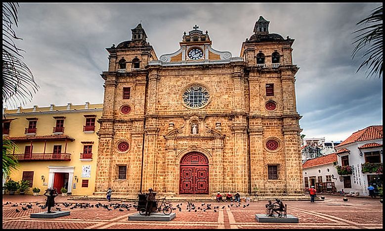 #4 Military Architecture of Cartagena -