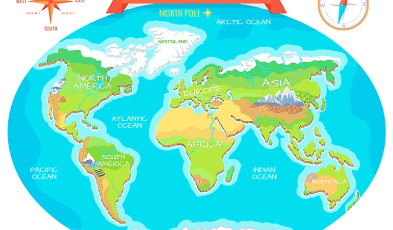 Oceans Of The World How Many Oceans Are There Worldatlas Com