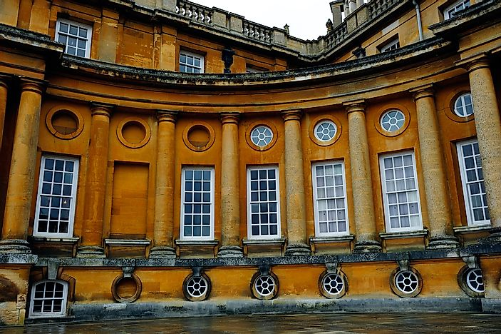 The Grand Blenheim Palace In England: A UNESCO World Heritage Site In The United Kingdom