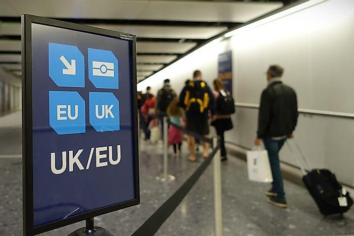 Các quốc gia có giới hạn du lịch