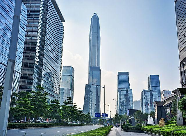 # 4 Pang Ένα Διεθνές Οικονομικό Κέντρο, Κίνα - 1965 ft