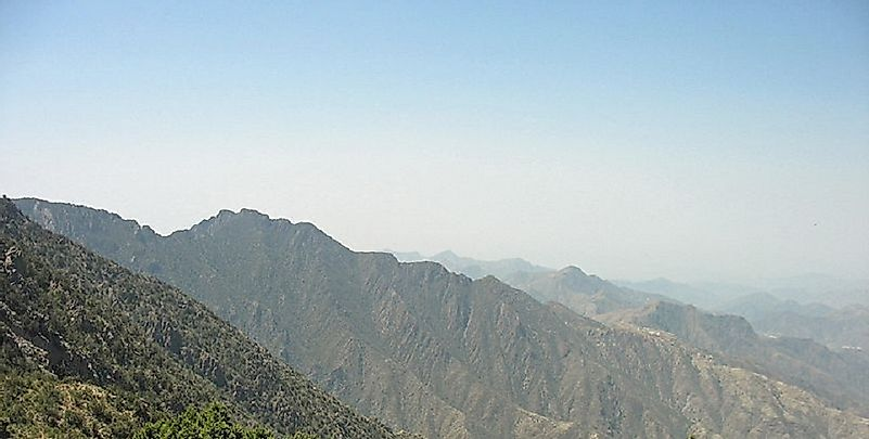 Tallest Mountains In Saudi Arabia