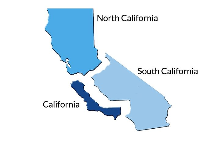 Why Might California Split Into Three States Worldatlas Com