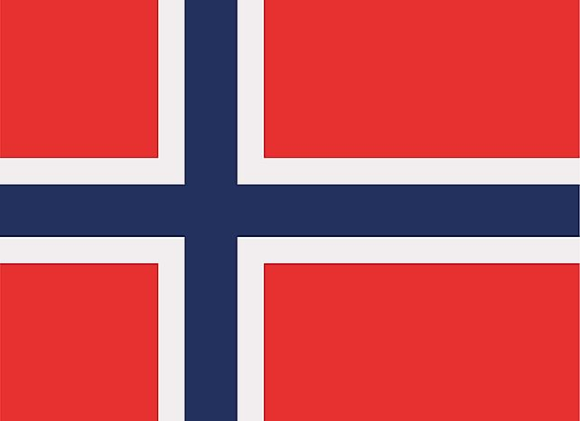 What Do The Colors And Symbols Of The Flag Of Norway Mean