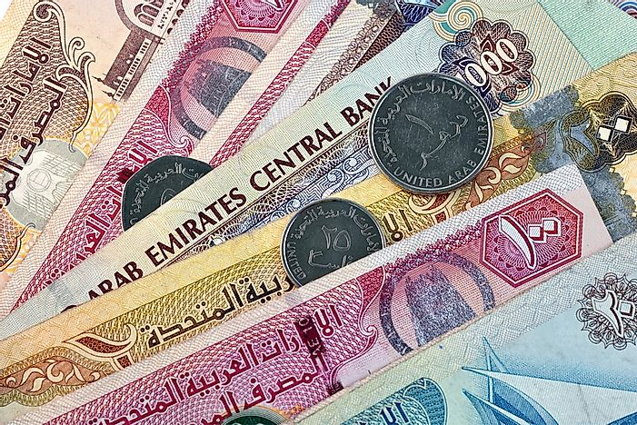 What Is The Currency Of The United Arab Emirates Worldatlas