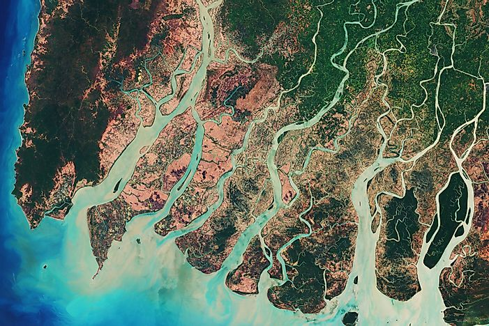 a complete list of fluvial landforms - worldatlas