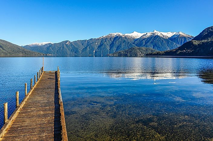The Deepest Lakes In New Zealand