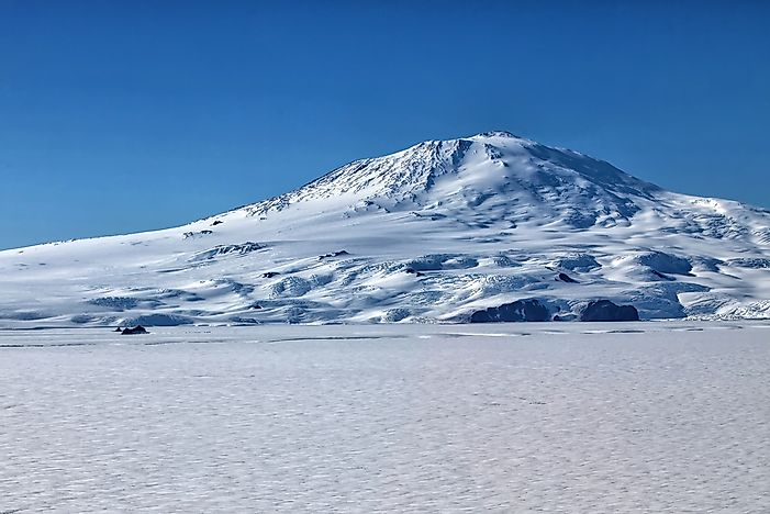 The 10 Tallest Volcanoes In Antarctica