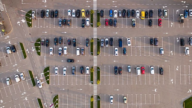 The Largest Parking Lots in the World