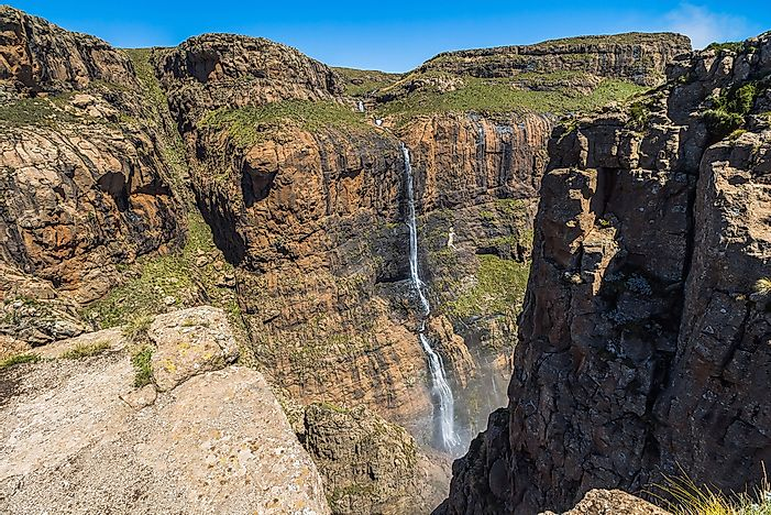 #3 Tugela Falls - the Tallest Waterfall in the Southern Hemisphere